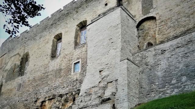 Toompea lossi läänefassaad